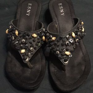 80937d564 ESNY sandals lightly used looks new size 9 amazing